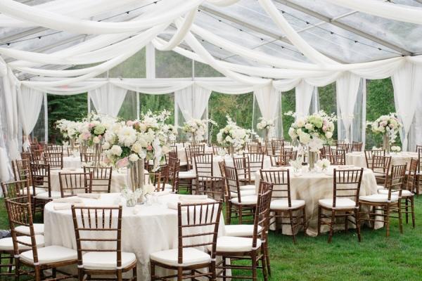Elegant Rustic Reception Elizabeth Anne Designs The