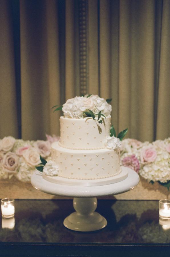 Two Tier Wedding Cake Elizabeth Anne Designs The