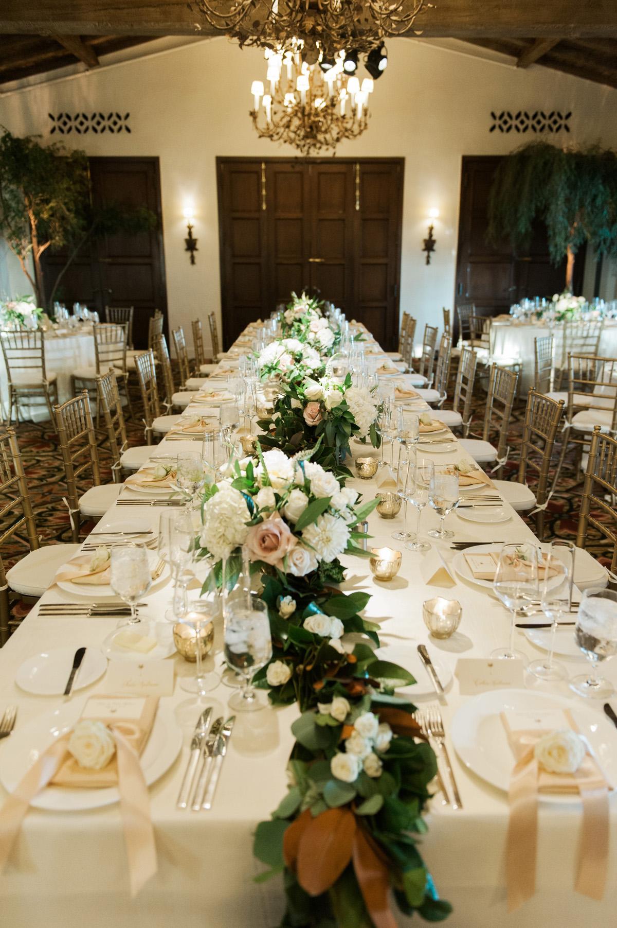 Garland Centerpiece Elizabeth Anne Designs The Wedding Blog