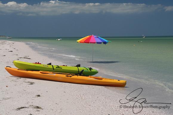 Sea Kayaks at Caladesi Island State Park