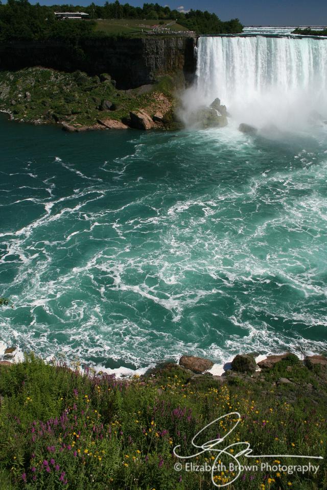 Niagara Falls - View of Horseshoe Falls from Victoria Park in Niagara Falls, Ontario, Canada