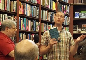 Jim Freund and Ian Kern from the Mysterious Bookshop