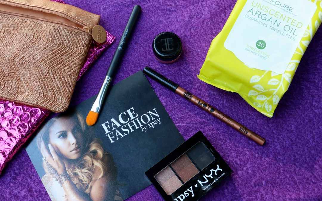 "Ipsy ""Face Fashion"" September 2015 