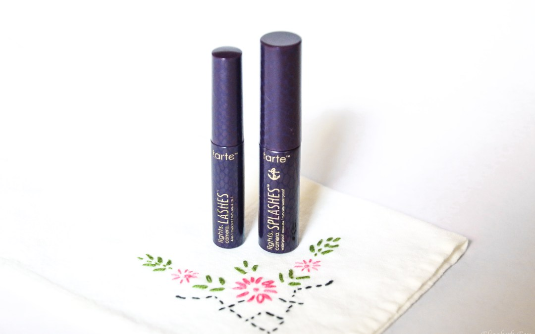 Tarte Lights, Camera, Splashes Mascara | Review
