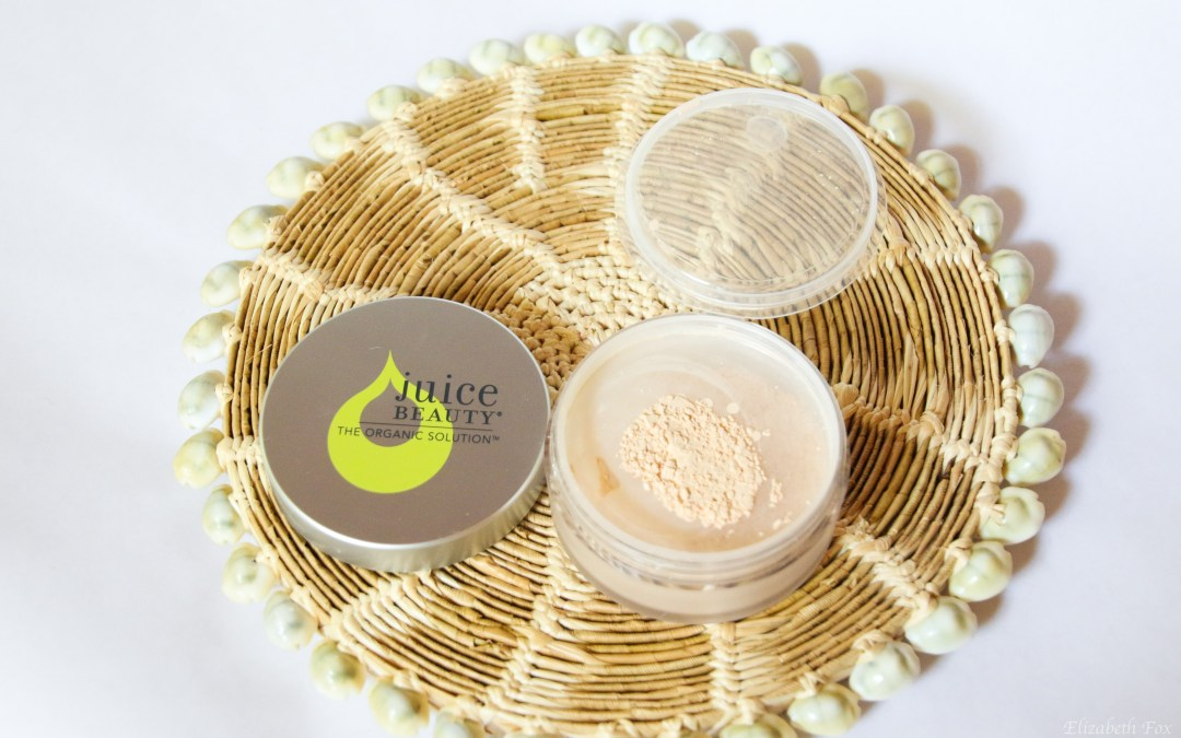 Juice Beauty Refining Organic Finishing Powder | Review