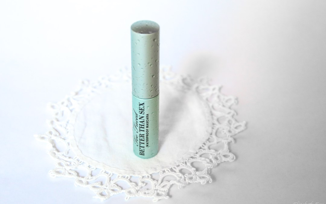 Too Faced Better Than Sex Waterproof Mascara | Review