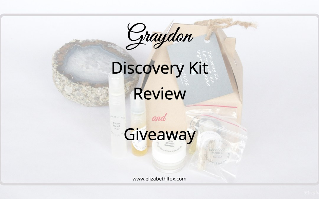 Graydon Discovery Kit | Review + Giveaway
