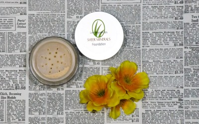 "Lemongrass Spas ""Sheer Mineral Foundation"" 