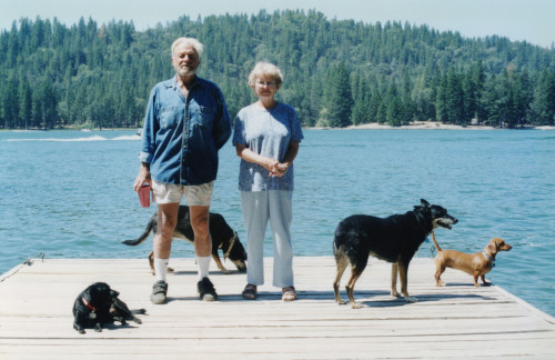 2005 Dad and Mom at Bass Lake