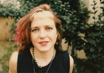Elizabeth at home in Hollywood, CA in 1986