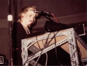 Elizabeth Montague at the Process Theater in Santa Barbara, CA in 1981