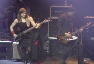 Elizabeth Montague and Mike Martt in 1995. Video ©David Travis