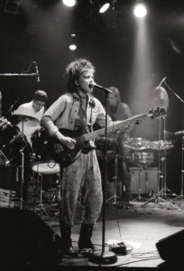 Elizabeth Montague at the Roxy in Hollywood in 1986