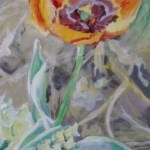 Spring Flowers, Orange finished (2) low pixles