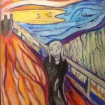 The scream art lesson plan
