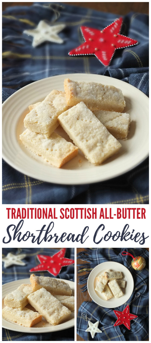 Traditional Scottish All Butter Shortbread Cookies Pinterest