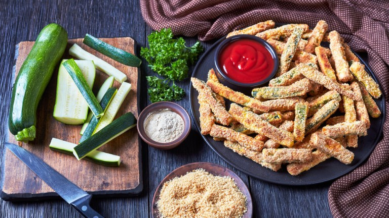 zucchini baked fries