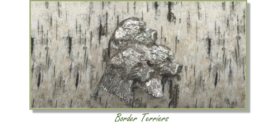 Border Terrier jewelry from Elizabeth Trail Design