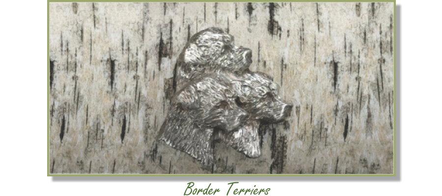 Border Terrier jewelry from Elizabeth Trail Design