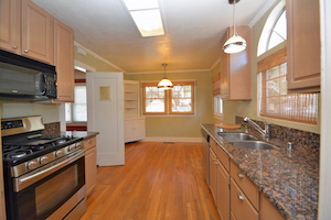 Kitchen of home in midtown
