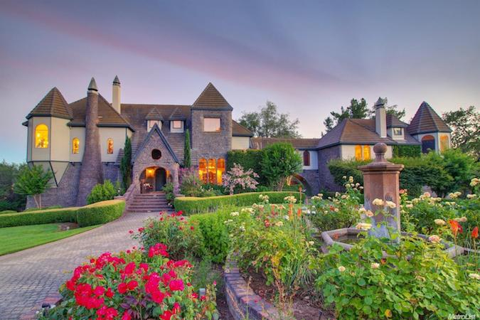 Luxury Home in Loomis is a Fairytale Castle for Sale