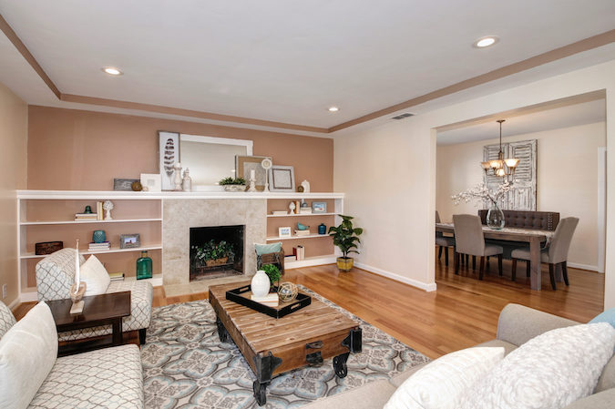 not need home staging to sell