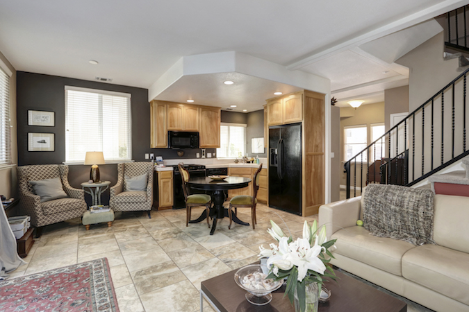home in a gated community in arden manor