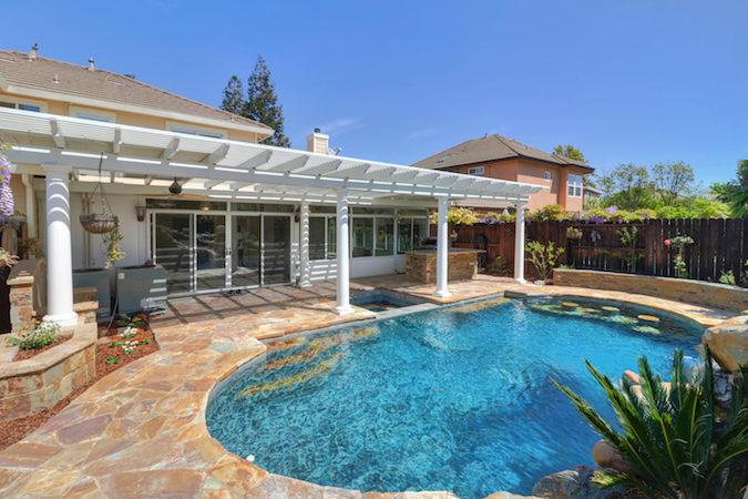 Pool Home in Davis is Ready for You in Lake Alhambra Estates