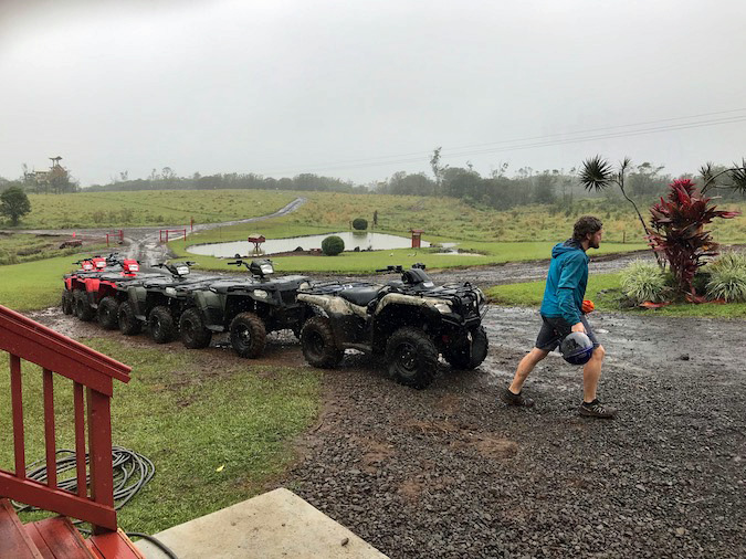ride ATVs on big Island