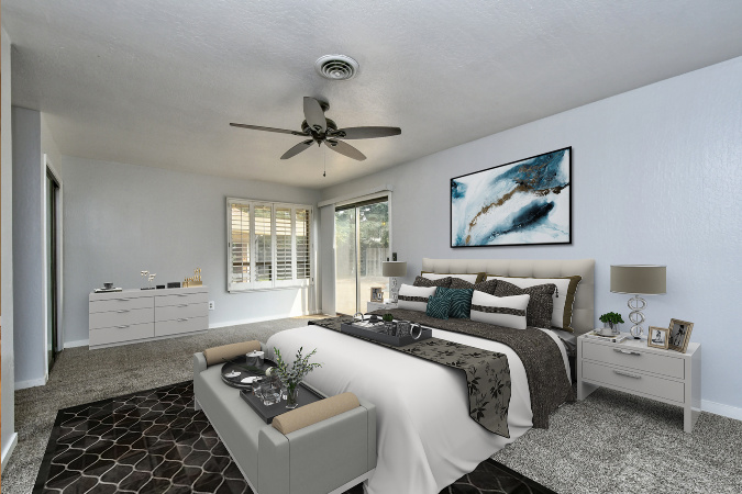 What Virtual Staging a Home For Sale Looks Like