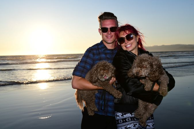 Josh Vica and the puppy kids