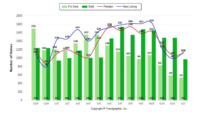 Jan 2021 Inventory Green Trends
