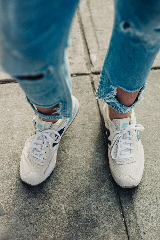 New Balence Sneakers | thevillagevogue.com