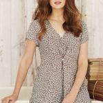 Adini Tunic_Emily Print Pixie - Khaki MME6037