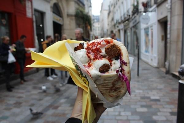 Goedkoop eten in Parijs bij L'as du fallaffel