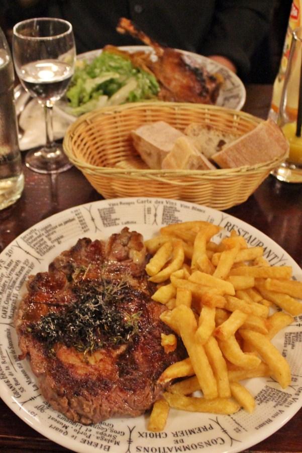 Goedkoop bij een Bistro Parijs uit eten