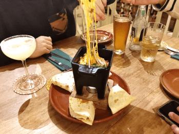 Kaasfondue KUA tacobar