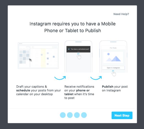 instagram updates inplannen