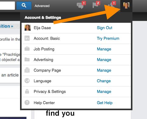 kan niet bloggen op LinkedIn taalinstelling