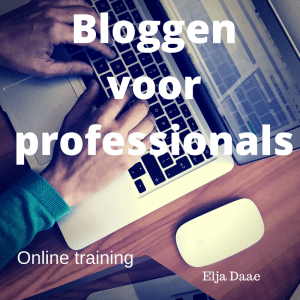 online training bloggen voor professionals