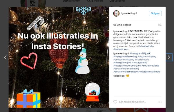 schrijven voor social media instagram
