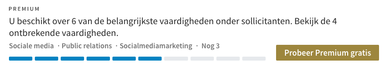geheim van LinkedIn vacature 2