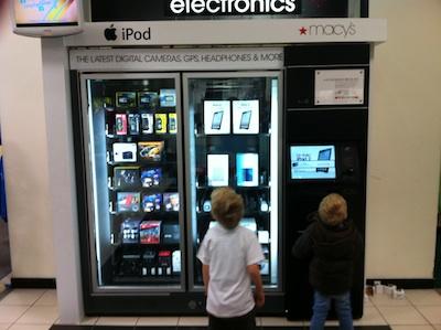 verkoop via een machine