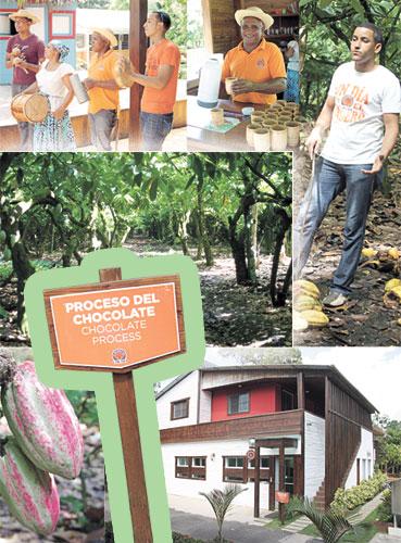 Sendero del Cacao, Esmeralda