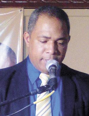 Ing. Jairo Joaquín, Presidente Municipal de PHD.