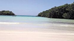 Playa El Diamante.