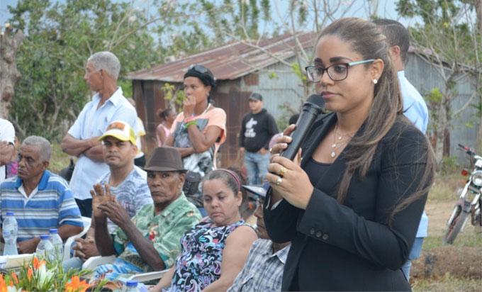 Smaily Rodríguez, Procuradora Fiscal Titular de la jurisdicción Duarte