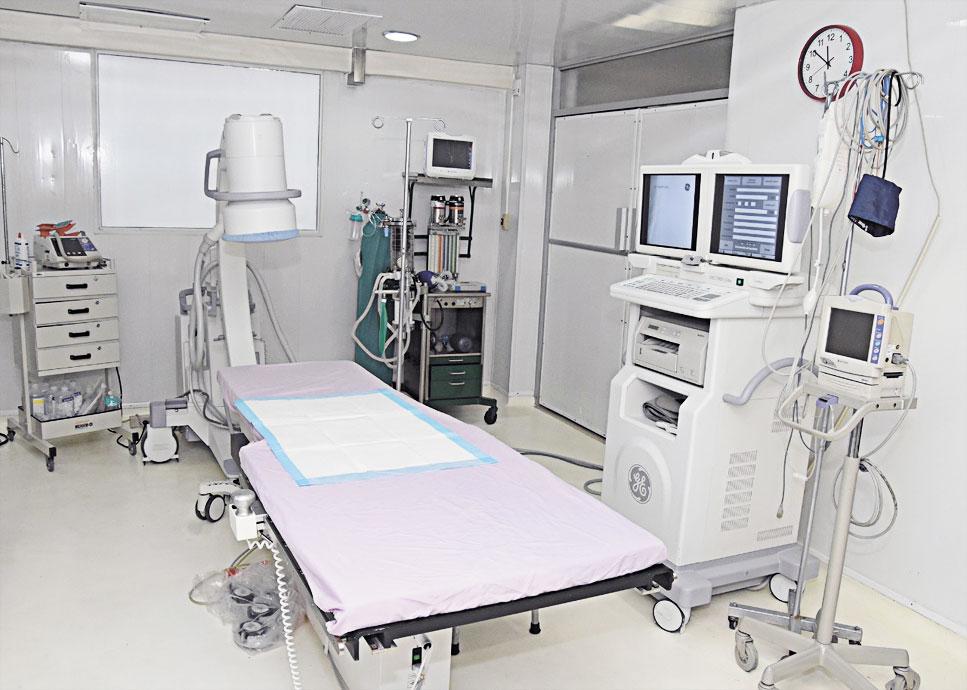 La Sala de Hemodinamia del Centro Materno Infantil del Nordeste cuenta con un personal especializado y los equipos más modernos de la región.