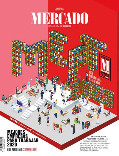 El Banco Popular Dominicano fue elegido como la mejor empresa para trabajar por la revista Mercado