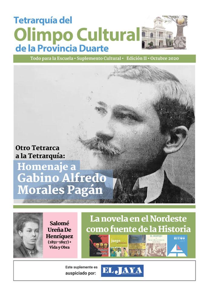 Portada Tetrarquía del Olimpo Cultural de la Provincia Duarte